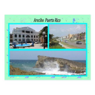Arecibo Puerto Rico Postkarte