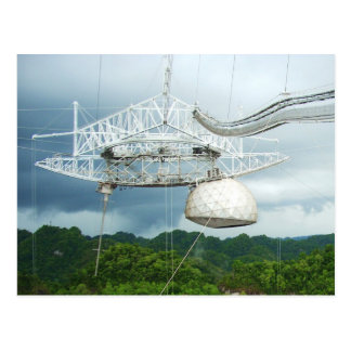 Arecibo Radioteleskop, Puerto Rico Postkarte