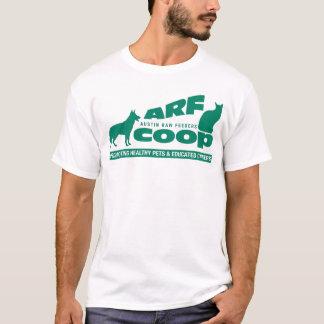 ARF Korb: Grün auf Weiß T-Shirt