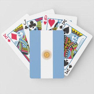 Argentinien Bicycle Spielkarten