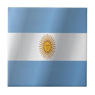 Argentinien-Flagge Fliese