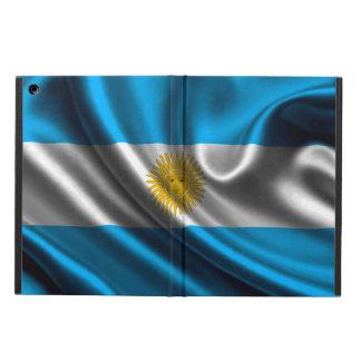 Argentinien-Flaggen-Gewebe