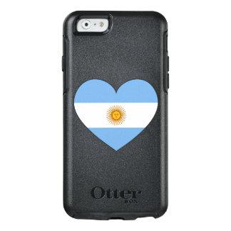 Argentinien-Flaggen-Herz OtterBox iPhone 6/6s Hülle