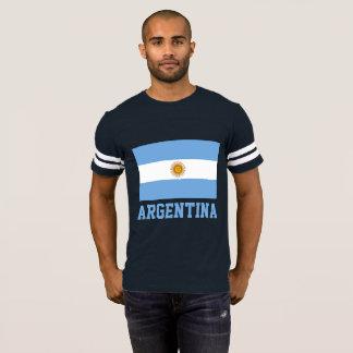 Argentinien-Flaggen-kundengerechter Text T-Shirt