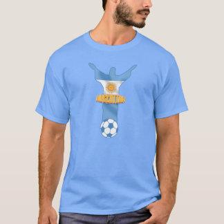 Argentinien-Fußball-La Celeste y BLANCA Futbol T-Shirt