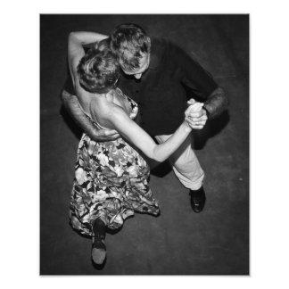Argentinien-Tango-Tänzer Fotodruck