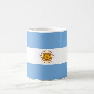 Argentinische Flagge Kaffeetasse