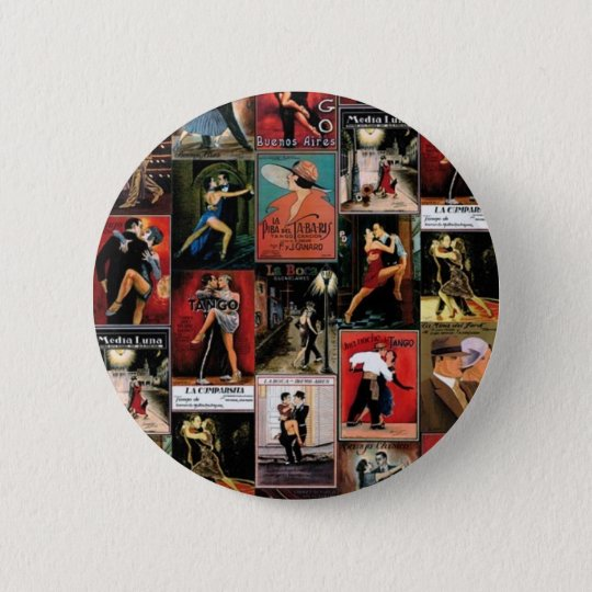 Argentinischer Tango Runder Button 5,1 Cm