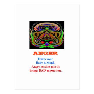 ÄRGER Management Postkarte