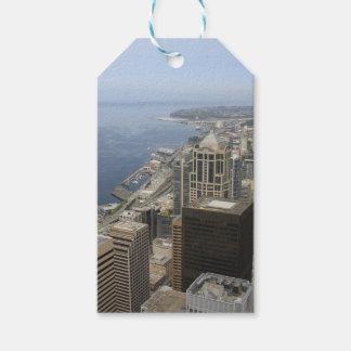 Arial Ansicht von Seattle Geschenkanhänger