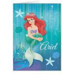 Ariel und Schloss Grußkarten