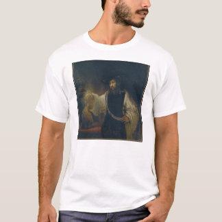 Aristoteles mit einem Fehlschlag von Homer durch T-Shirt