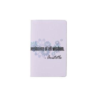 Aristoteles Moleskine Taschennotizbuch