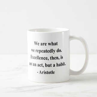 Aristoteles-Zitat 4a Kaffeetasse
