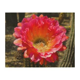 Arizona-Blume hölzerne Wand-Kunst Holzdruck