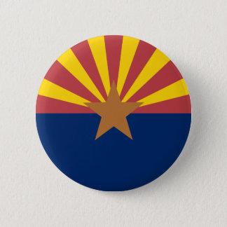 Arizona-Flagge Runder Button 5,7 Cm