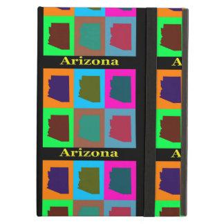 Arizona-Karten-Silhouetten bunt