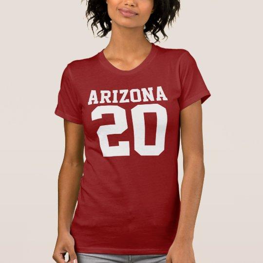 Arizona mit Zahl (kundengerechte Zahl) T-Shirt