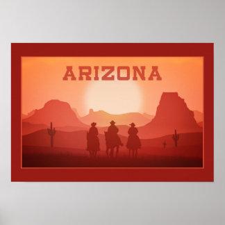 Arizona-Sonnenuntergangplakat 1 Poster