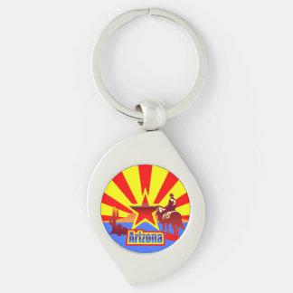 Arizona-Staats-Flagge Schlüsselanhänger