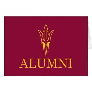 Arizona-Staats-Hochschulschüler Grußkarte