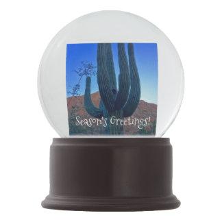 Arizona-Weihnachtskaktuss-Schnee-Kugel Schneekugel