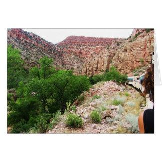 Arizona-Zug - Südwesten draußen - freier Raum Karte