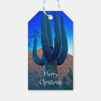 Arizonasaguaro-Weihnachtspersonalisierter Geschenkanhänger