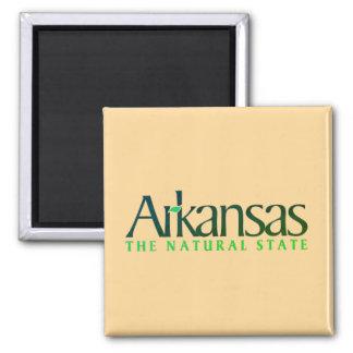 Arkansas der Natur-Staat Quadratischer Magnet