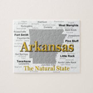 Arkansas-Karten-Silhouette