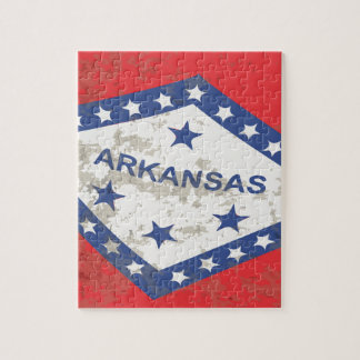 Arkansas-Staats-FlaggeGrunge