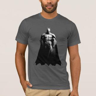 Arkham Stadt| Batman-breite Schwarzweiss-Pose T-Shirt