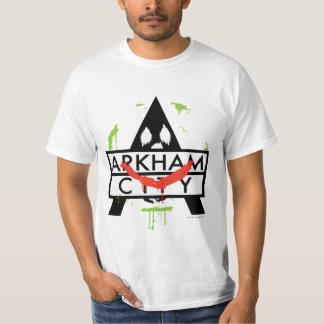 Arkham Stadt-Ikone mit Jokerkennzeichen 2 T-Shirt