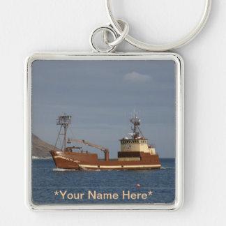 Arktische Dame, Krabben-Boot im niederländischen Schlüsselanhänger