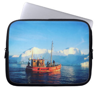 arktische Fischenlaptophülse Laptop Sleeve