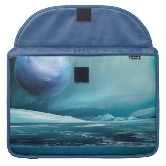 Arktische Winter-Nachtmond-Treibeis Macbook Hülse Sleeve Für MacBook Pro
