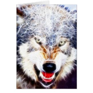 Arktischer Wolf Karte