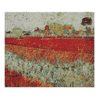 arles - geänderter Van Gogh Poster