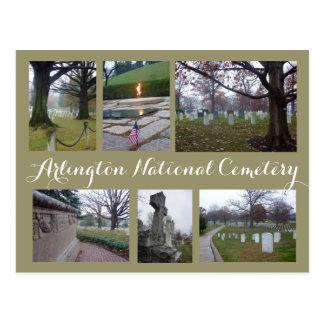 Arlington-Friedhofs-Collage Postkarte