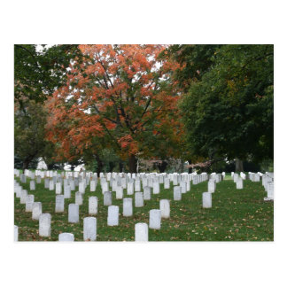 Arlington-Staatsangehörig-Friedhof Postkarte