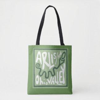 ARLIS/NA Ohio Valley Schlangen-Hügel-Tasche Tasche