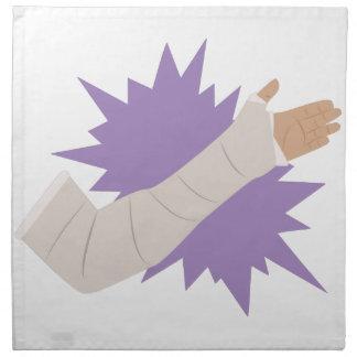 Arm-Form Stoffserviette