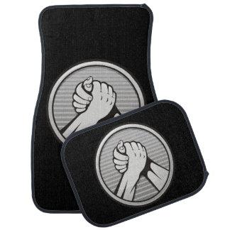 Arm-Wrestling Silber Automatte
