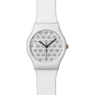 Armbanduhr des Diamant-Muster-May28th