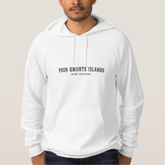 Arme-Ritter-Inseln Neuseeland Hoodie