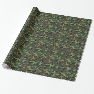 Armee-Camouflage Geschenkpapierrolle