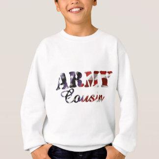 Armee-Cousin-Flagge Sweatshirt