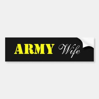 ARMEE, Ehefrau Autoaufkleber