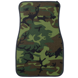 Armee-grüne Camouflage Autofußmatte