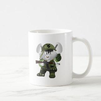 Armee-Häschen Kaffeetasse